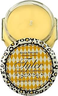 Tyler Glass Fragrance Candle 3.4 Oz,Fleur De Lis