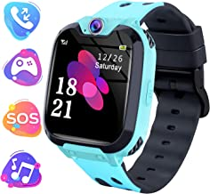 "Moweallarge Kids Game Smart Watch Phone – 1.54"" HD Touchscreen with Music.."