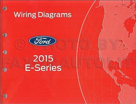 2015 ford econoline wiring diagram manual original van e-350 e-450