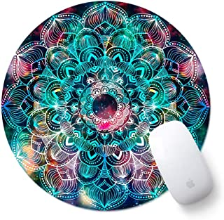 Round Cute Mouse Pad, ToLuLu Mousepad for Desktop Computer Laptop Notebook, Anti Slip Rubber Customized Mouse Mat for Work...