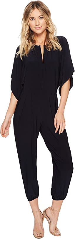 KAMALIKULTURE by Norma Kamali Rectangle Jog Jumpsuit