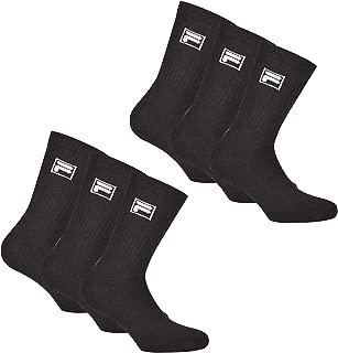 Fila 3 paia di calze Invisible sneakers unisex 35-46 tinta unita-più colori