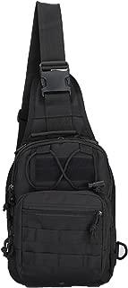 Tactical Sling Bag Chest Pack EDC Molle Backpack Hiking Daypack Men Women…