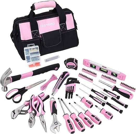 FASTPRO Pink Tool Set, 220-Piece Lady