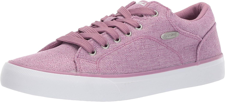 Lugz Womens Regent Lo Linen Sneaker