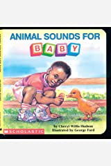 Animal Sounds For Baby (What-A-Baby Series) Board book
