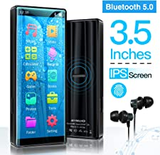 MYMAHDI MP3 Player with Bluetooth 5.0, High Resolution and Full Touch Screen, Built-in..