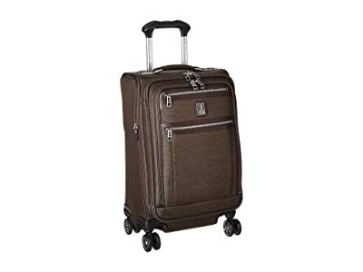 Travelpro Platinum(r) Elite 21 Expandable Carry-On Spinner (Rich Espresso) Luggage