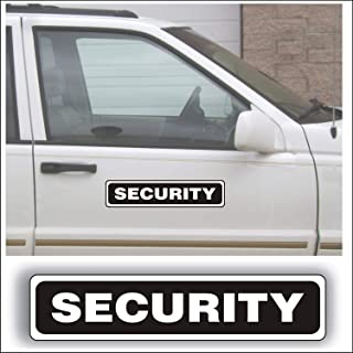 security signs for cars