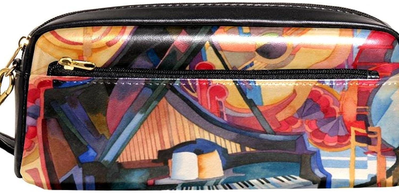 Capacity Portable Pencil Max 47% OFF Atlanta Mall Case the musical i decorative orchestra