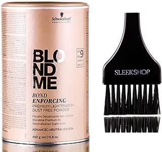 Best schwarzkopf blondme bond enforcing premium lightener Reviews