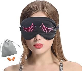 Wicemoon Masque des Yeux Sommeil Lavable Ultra-Doux Anti fatigu/é Anti-lumi/ère Anti-fatigue pour Dormir Repos Voyage Sommeil Insomnie D/étente R/élaxation