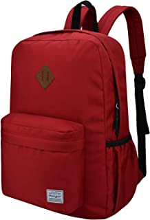 Mengar Unisex Travel Backpack College School Bookbag Fits 15.6 inch Laptop and Notebook for Men Women, Water Resistant Daypack for Travel Outdoor Camping