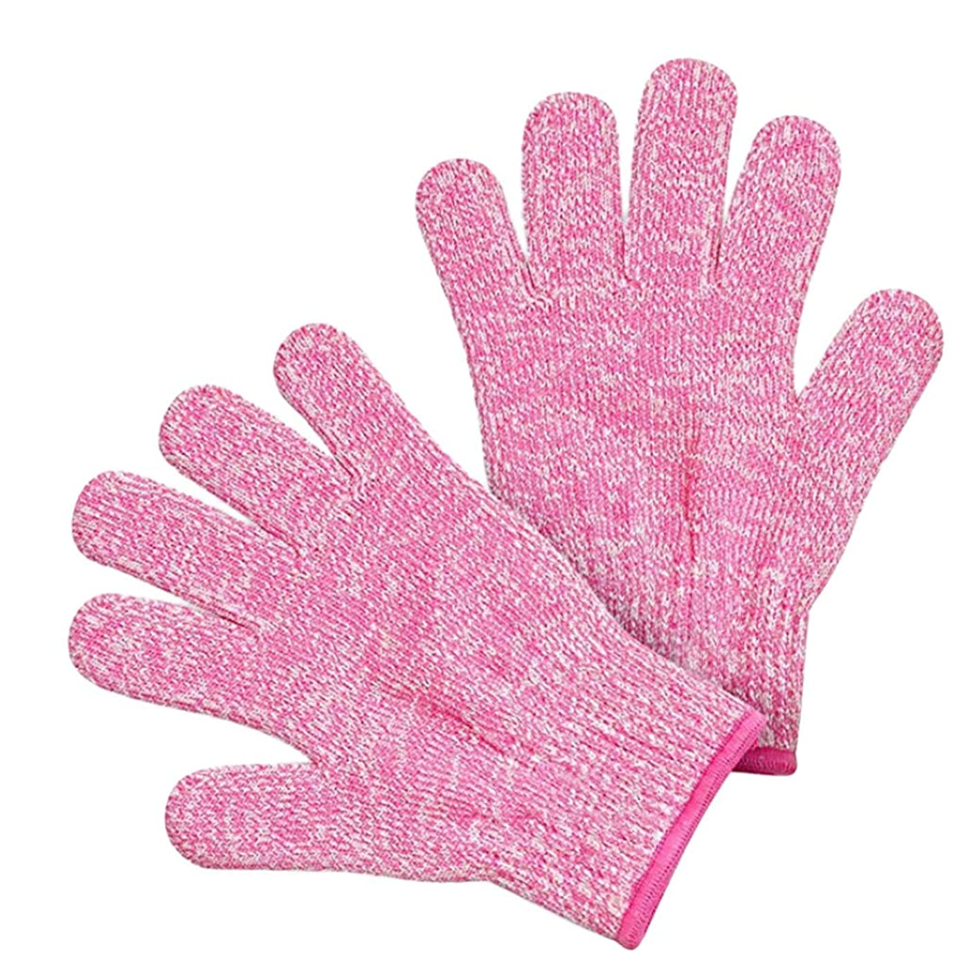 ?Rendodon? Kitchen Tools, Food Storage, Cut Resistant Gloves, Small Adult Anti Cut Gloves Maximum Kids Cooking Protection (Pink, S)