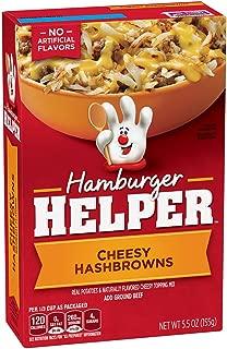 Hamburger Helper Cheesy Hashbrowns, 5.5 oz Boxes (Pack of 12)