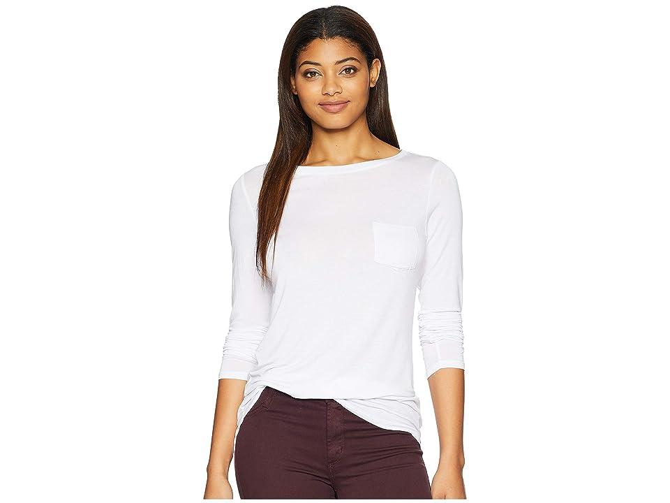 Prana Foundation Long Sleeve Tunic (White) Women