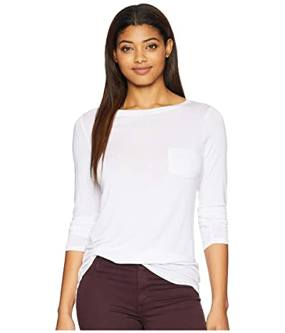 Prana Foundation Long Sleeve Tunic (White) Women
