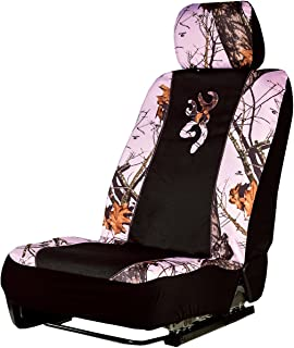 Browning Low-Back Seat Cover (Mossy Oak Pink Break-Up Camouflage, Sold Individually)