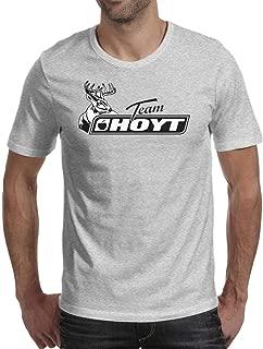 TTG88UOG Men Hoyt ARCHEY Logo Short Sleeve T Shirt Crew Neck Blank Shirts Personalised Tees Printing