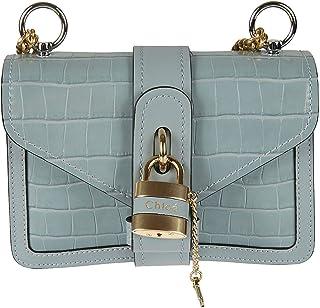 Luxury Fashion   Chloé Womens CHC20SS207A8744L Light Blue Shoulder Bag   Spring Summer 20