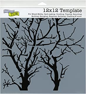 12 inch branch template