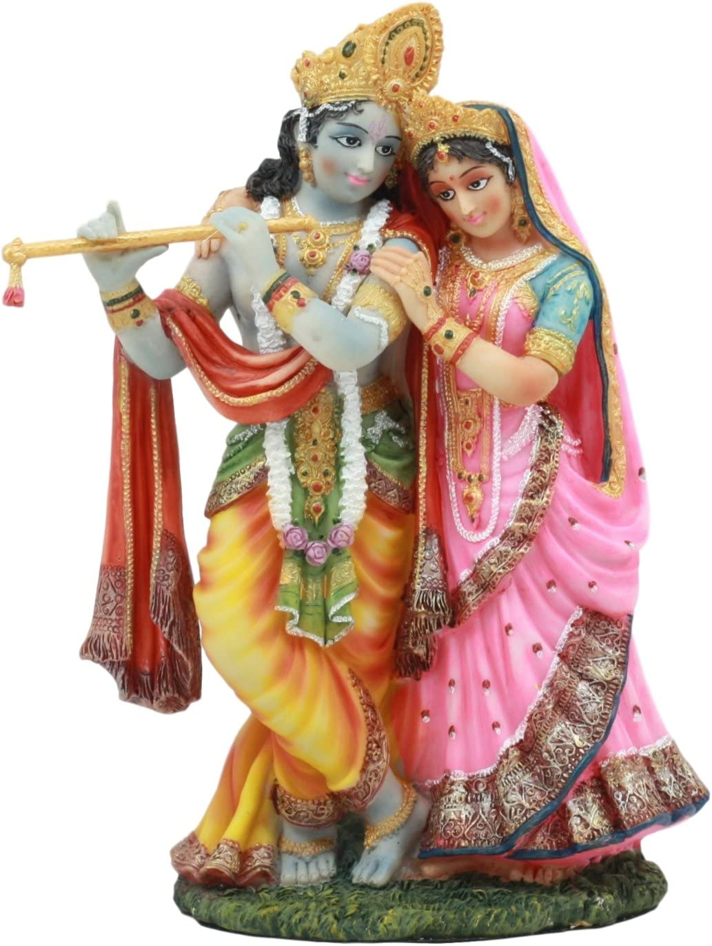 Ebros Vedic Radha Very popular and Krishna 8Tall Statue of service Avatar Vishnu