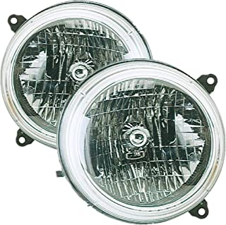 Best replacement headlights jeep Reviews