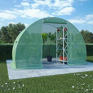 vidaXL Greenhouse 4.5m² 300x150x200cm Cold Frame Tunnel Tomato Plant House