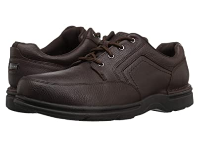 Rockport Eureka Plus Mudguard (Dark Brown Nubuck) Men