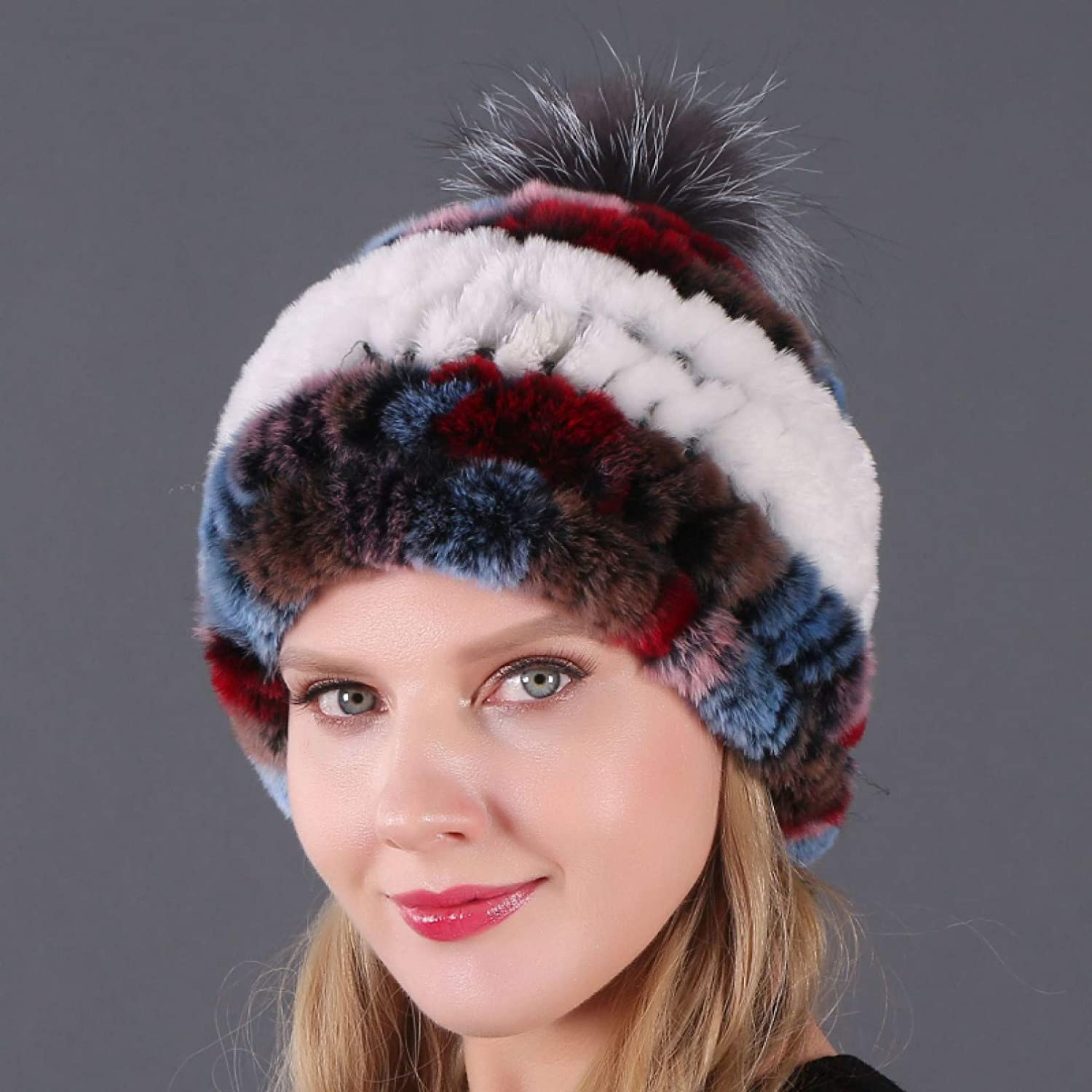 BELEMON Bomber Women Large special price Winter Hat Female Warm 4 years warranty Beanies Faux R Thick