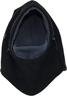 ZZLAY Balaclavas Hat Double Layers Thicken Caps Winter Versatile Neck Warm Fleece Ski Face Mask