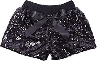 6M-5T ChicNChic Baby Girls Letter Print Tops Sequins Pants with Headband 3pcs Little Girls Outfits Short Set