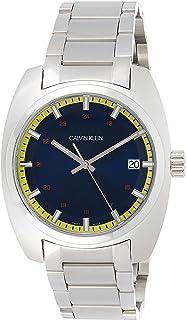 Calvin Klein Men's Quartz Watch, Analog Display and Stainless Steel Strap K8W3114N