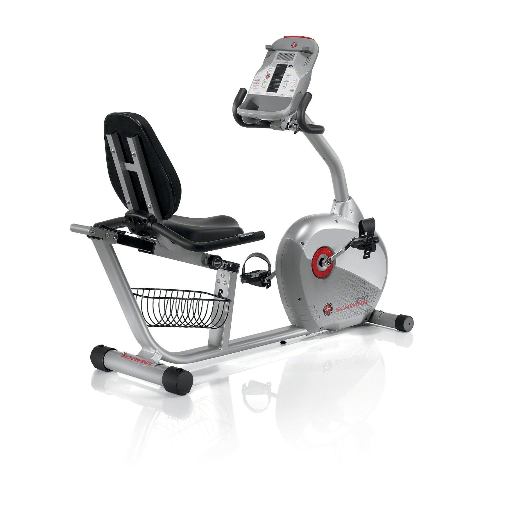 Schwinn 250 reclinado Bicicleta estática - 250: Amazon.es ...