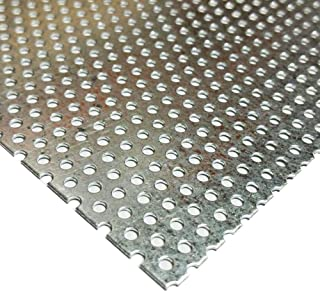 Online Metal Supply Galvanized Steel Perforated Sheet 0.034
