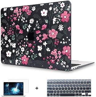 Funda Mektron para MacBook Air de 13 pulgadas, modelo A1466/A1369, cubierta de cáscara dura para impresión floral, cubiert...