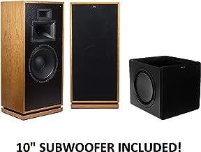 Klipsch Forte III Heritage Series Speakers (Cherry) with Klipsch SW-311 Subwoofer Package