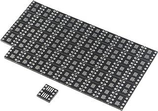 JIUWU 8 Pin Double-Side Prototype Printed Circuit PCB Adapter Universal Board Protoboard SO MSOP TSSOP SOIC SOP8 to DIP8 f...