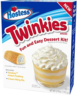 Hostess Twinkies Dessert Kit, Pudding Mix, Instant Pudding, Pudding Kit, Baking kit, Dessert Mix, Tasty Personal Dessert for the Holidays, Birthdays or Special Occasions 6.99 OZ, 6 CT (Pack - 1)