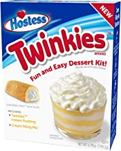 product image for Hostess Twinkies Dessert Kit, Pudding Mix, Instant Pudding, Pudding Kit, Baking kit, Dessert Mix, Tasty Personal Dessert for the Holidays, Birthdays or Special Occasions 6.99 OZ, 6 CT (Pack - 2)