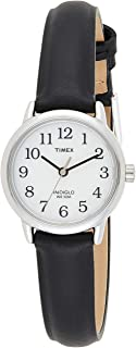 Timex Womens Quartz Watch Watch Watch Analog Display And Leather Strap - T20441
