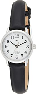 Timex Womens Quartz Watch, Analog Display And Leather Strap - T20441