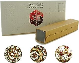 Caleidoscopio di carta fai-da-te riempito con ambra, kit di assemblaggio