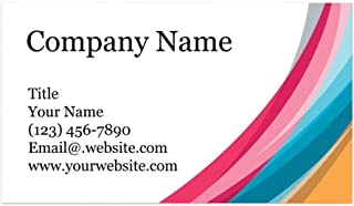 """$21 » Custom Printed 100% Recycled Card Stock Business Cards - Thick Sturdy Stock - 3.5"""" x 2"""" - 100% Recycled Content - 100% Mad..."""