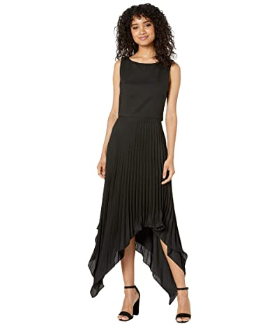 Nicole Miller Asymmetrical Dress (Black) Women