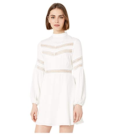 Jack by BB Dakota Give Me the Details Rayon Twill Dress (Off-White) Women