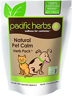 Sponsored Ad - Pacific Herbs Natural Pet Calm Herb Pack