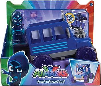 PJ Masks Autobús Ninja Nocturno (Bandai 24575) , Modelos ...