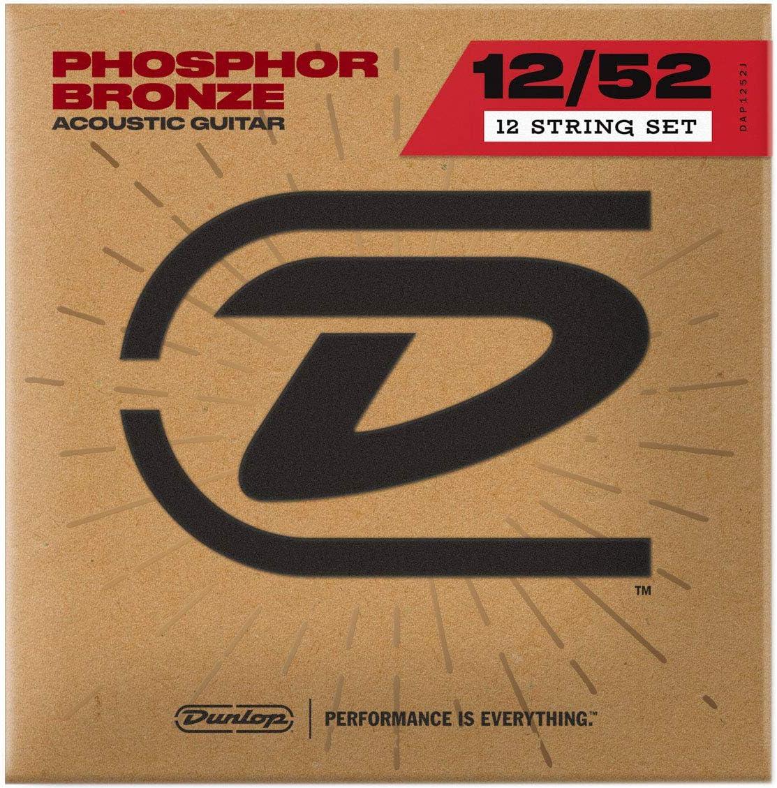 Dunlop Recommendation Seattle Mall DAP1252J Medium Phosphor Guitar Acoustic Strings Bronze