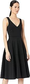 Marchio Amazon - TRUTH & FABLE Vestito Midi Elegante Donna